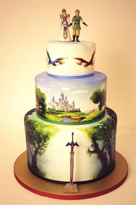 Hand Painted Wedding Cakes: The Next Big Bridal Trend?