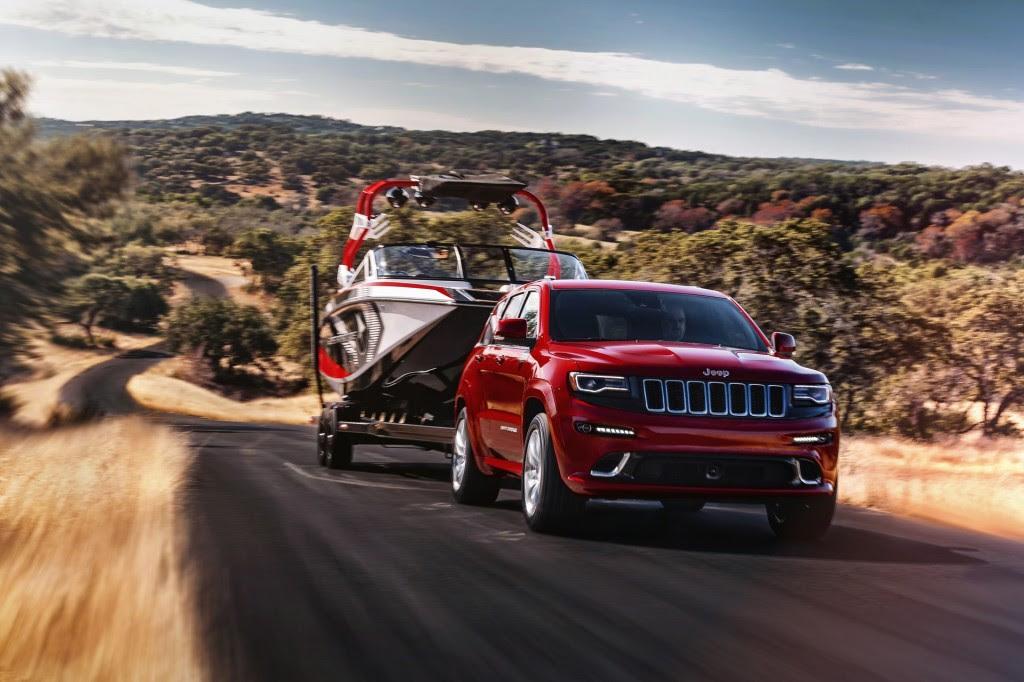 2015 Jeep Grand Cherokee SRT Gets Power Boost