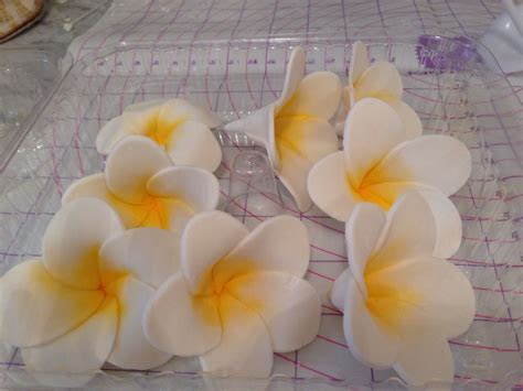 How to Make Tropical Flower Fondant   ruffled cakes