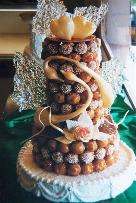 Real French Wedding Cake With Cream Puffs Wedding Cake