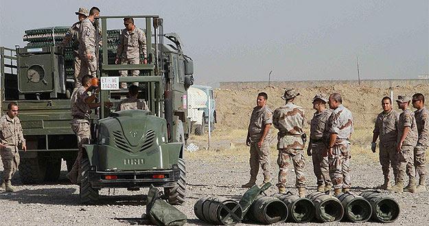 Militares españoles en la base de Herat, en Afganistán, en una foto de archivo