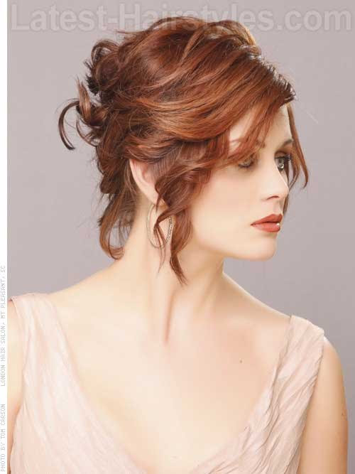 14 Short  Hair  Updo  for Wedding  Short  Hairstyles  2019