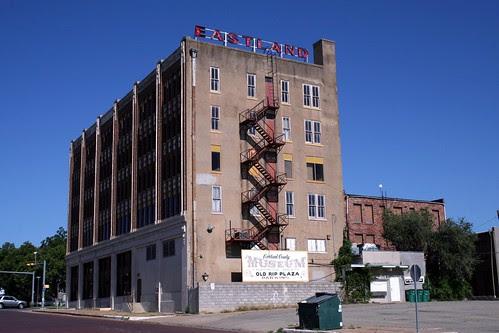 rear of former eastland national bank building