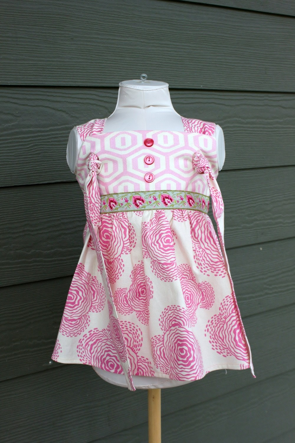 Boutique Knot  Top, size 12mo to 6yrs