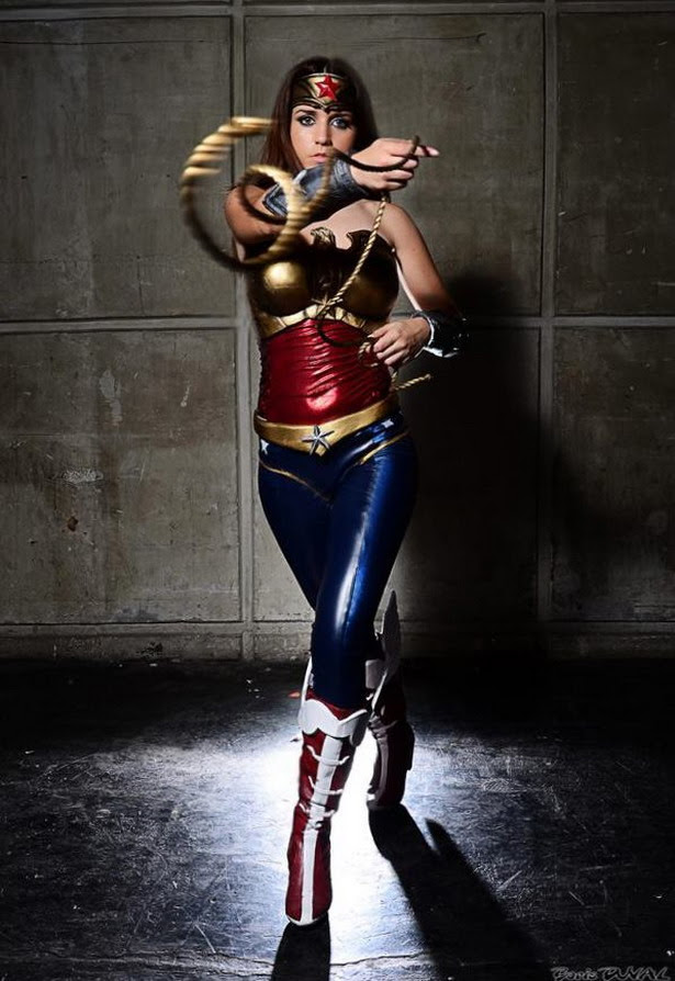 Cosplay de Wonder Woman como querriamos que fuera Gal Gadot