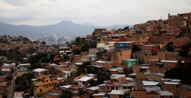 Vista de Tegucigalpa, la capital de Honduras, que este domingo celebra elecciones presidenciales. REUTERS/Edgard Garrido