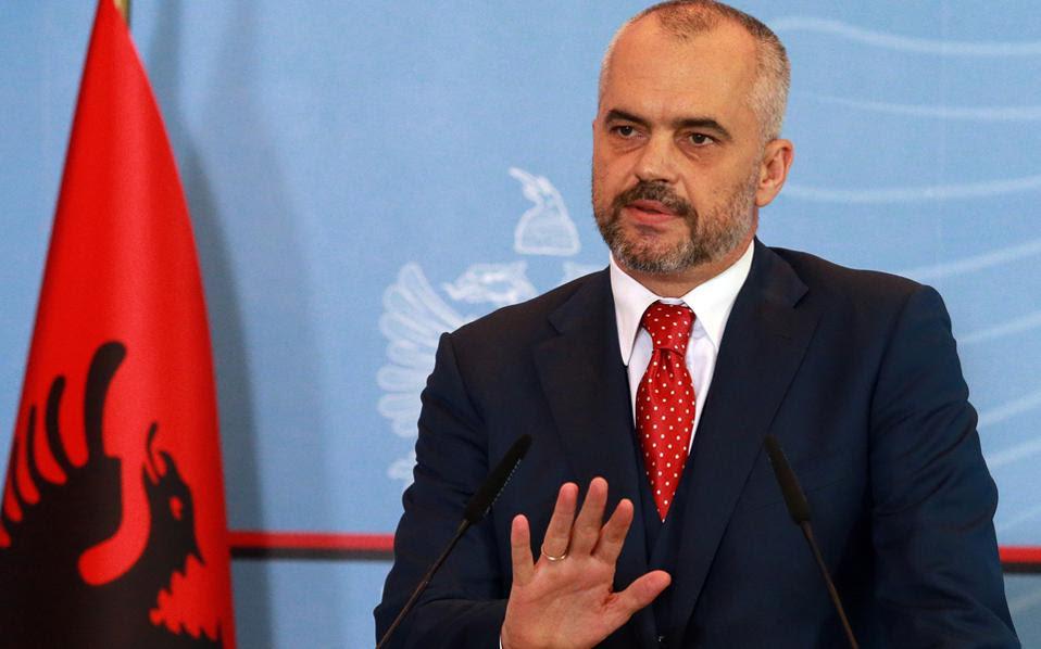 Ο πρωθυπουργός της Αλβανίας, Εντι Ράμα.