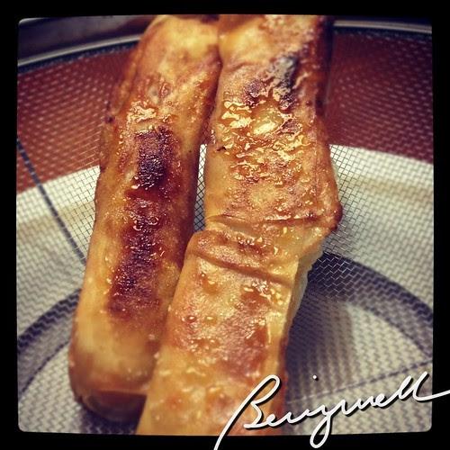 Cooking Turon Like
