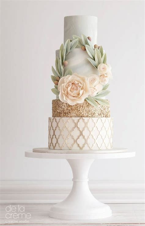 The Top 30 Wedding Cake Trends   Style & Designs