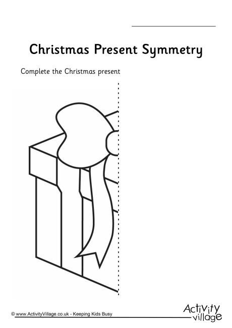 http://www.activityvillage.co.uk/christmas-symmetry-worksheets