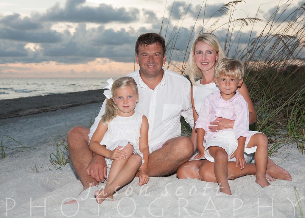 Johnson Family on Longboat Key, July 2012
