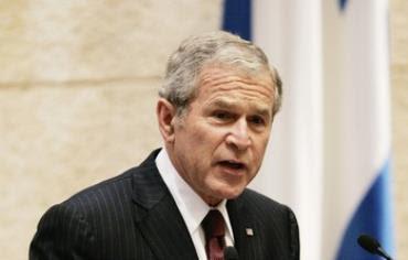 Former US president George Bush