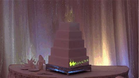Disney made the best cake of all time using projection