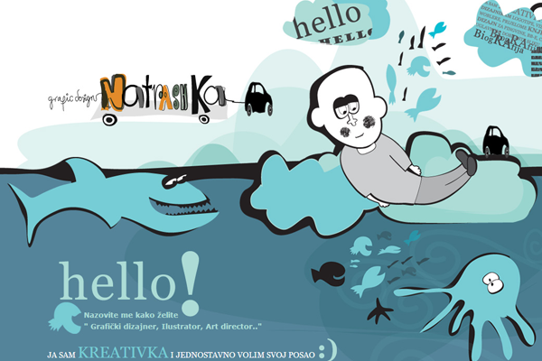 natrashka website illustrations graphics