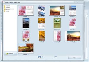 photo calendar editor