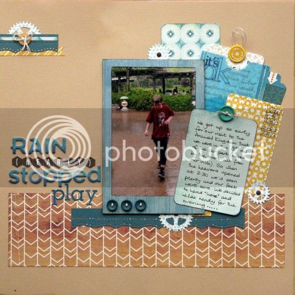 Layout - Rain {nearly} Stopped Play - Jimjams