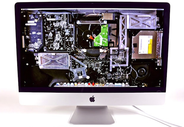 See the Inside of iMac, iPad, and iPhone with These XRay Wallpapers