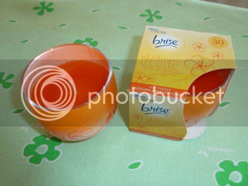 Duftkerze riecht nach Mango