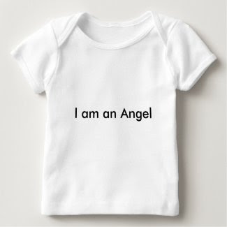'I am an Angel' T-Shirt for Babies