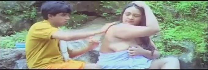 Shakeela Bathing Outdoor with Young Boy !! HD