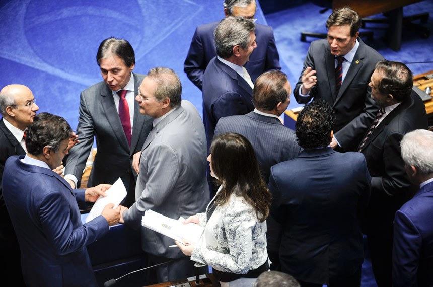 Senadores discutem PEC da janela partidária / Foto: Moreira Mariz
