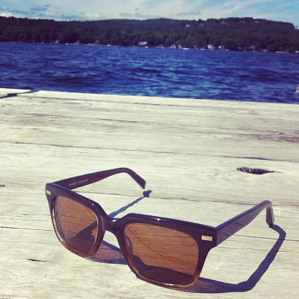 Warby Parker Winston on the Dock