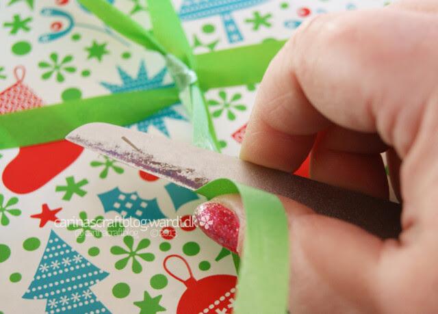 Gift wrap tip