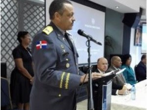 Jefe de la Policía, Nelson Peguero Paredes.