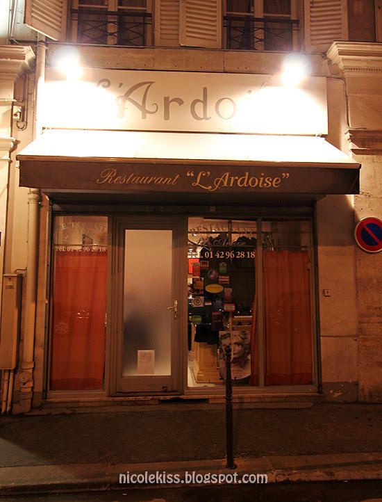 horrible french restaurant