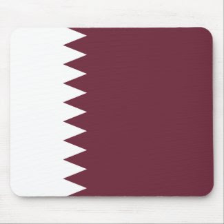 Qatar Flag Mousepad