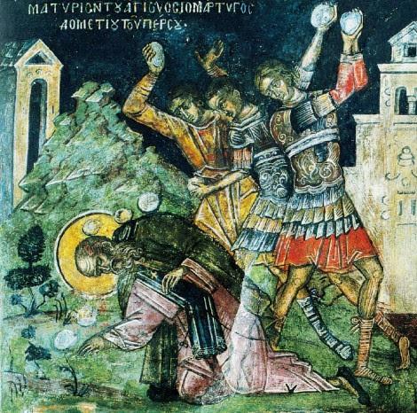 1. Sf Mc Dometie, monah persan si cei 2 ucenici ai sai (363) 2.1