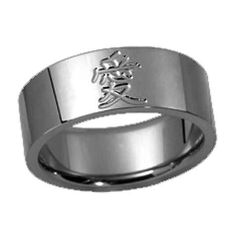Laser Engraving : Tungsten Carbide Ring, Scratch free
