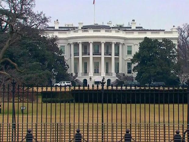 GNews - EUA, Casa Branca (Foto: globonews)