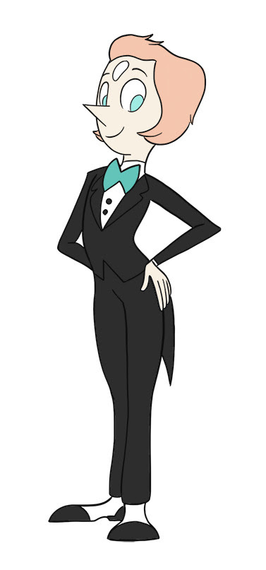 PEARL IN A TUX THO