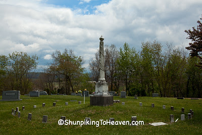 Confederate Monument, Crab Orchard Cemetery, Lincoln County, Kentucky