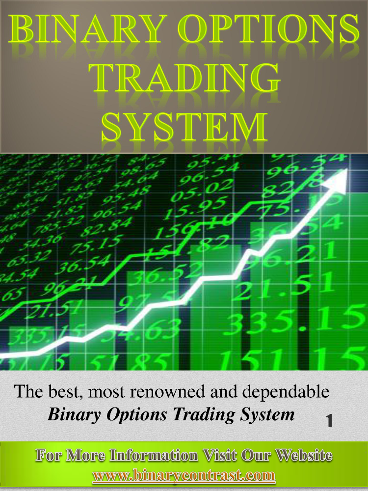 Binary Options Trading Signals Review  authorSTREAM