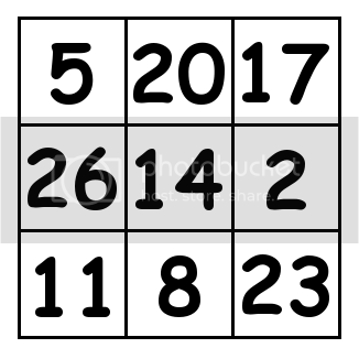3 by 3 grid Solution 4