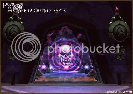 Postcards of Azeroth: Auchenai Crypts, by Rioriel Ail'thera