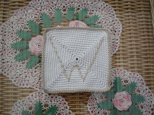 Beautiful 'initial' Squares for our Royal Wedding. Gorgeous and I'm so pleased they have arrived!