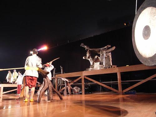 優人神鼓20週年:活動前一天的排演
