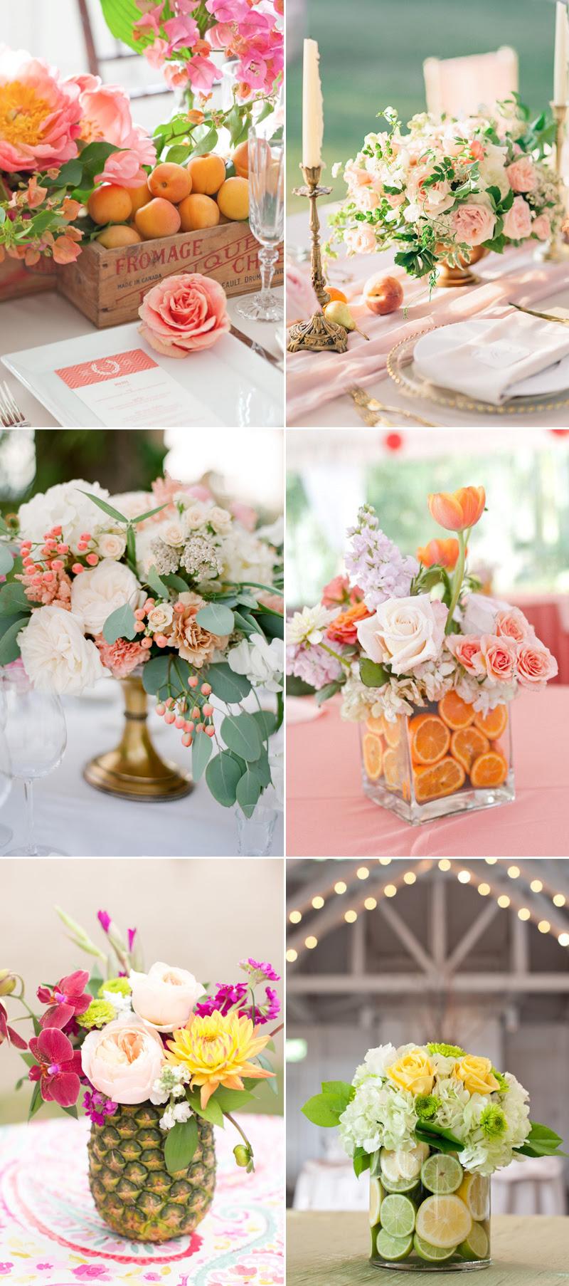 22 Romantic Fresh Flower Centerpiece Ideas For Spring Weddings Praise Wedding