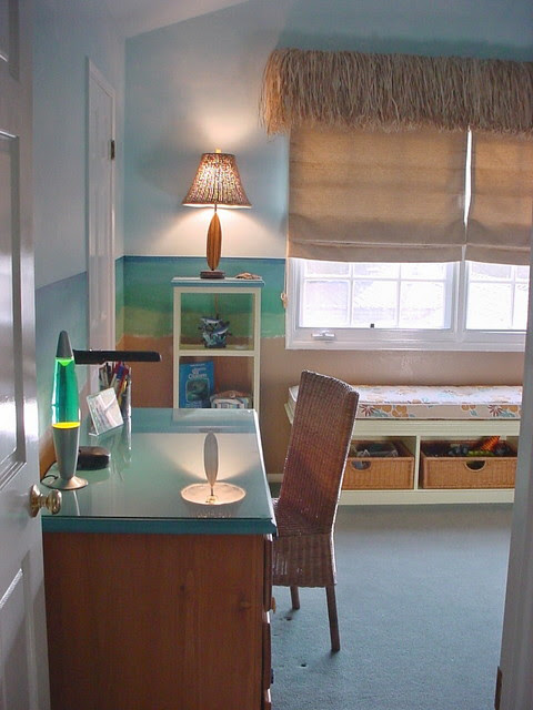 Kid's Beach Room - beach style - kids - los angeles - by Talianko