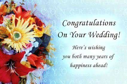 The Best Wedding Wishes and Wedding Congratulations For