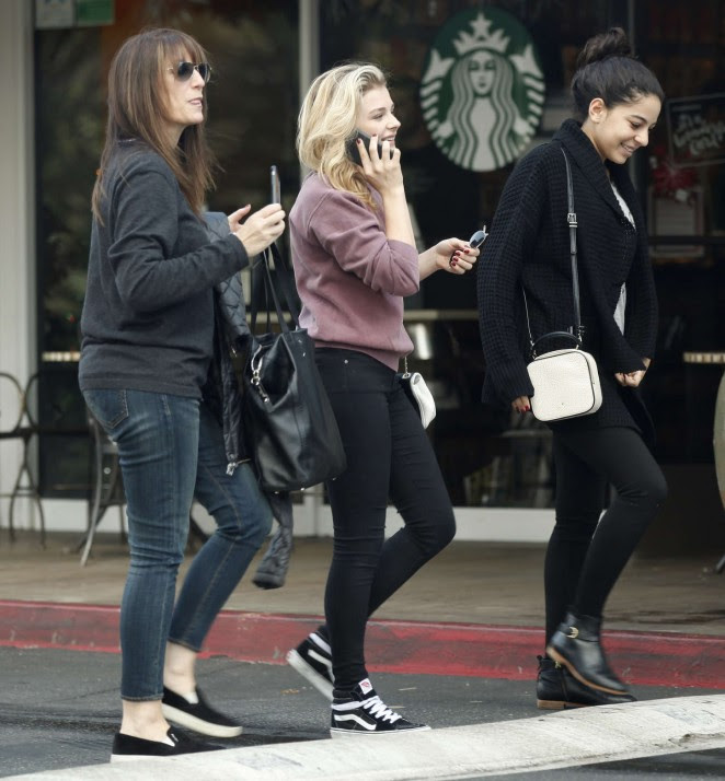 Chloe Moretz Out in LA -01