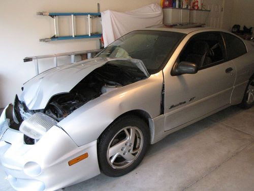 Find Used 2002 Pontiac Sunfire Gt Coupe 2 Door 2 4l For Parts In Lewis Center Ohio United States For Us 480 00