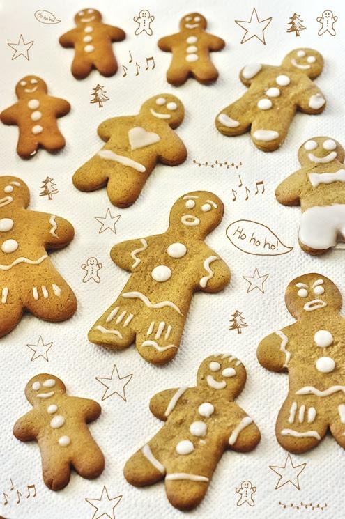 Lebkuchenman Lebkuchenmänner Gingerbread man