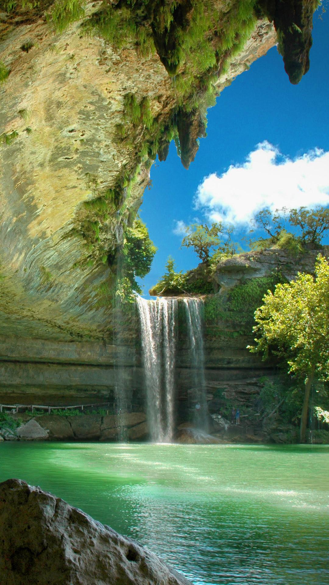 Beautiful Waterfall iPhone Wallpaper HD
