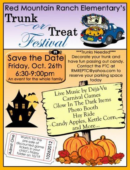 Trunk Or Treat Flyer Examples Radiovkmtk