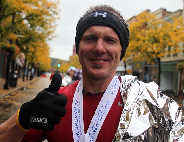 after the marathon