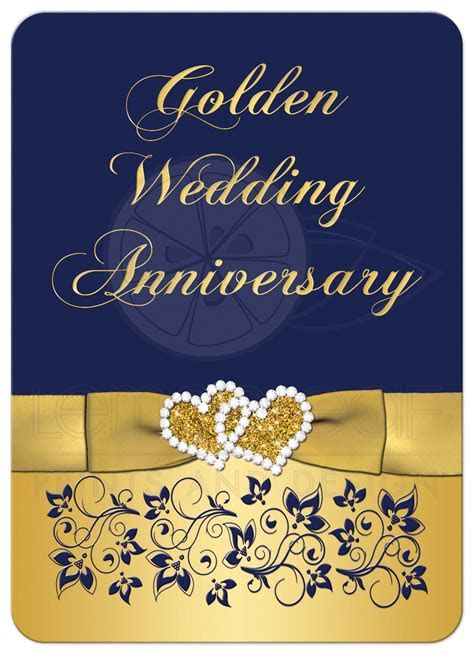 Golden Wedding Invitations Wording Image collections